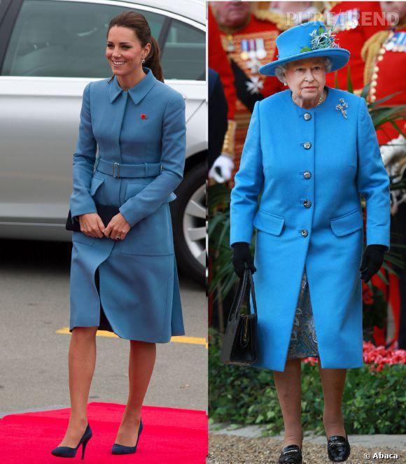 La Reine Elizabeth II nouvelle inspiration mode de Kate Middleton pour son voyage officiel en Nouvelle-Zélande ?