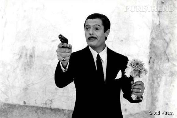 Marcello Mastroianni, icône du cinéma italien.