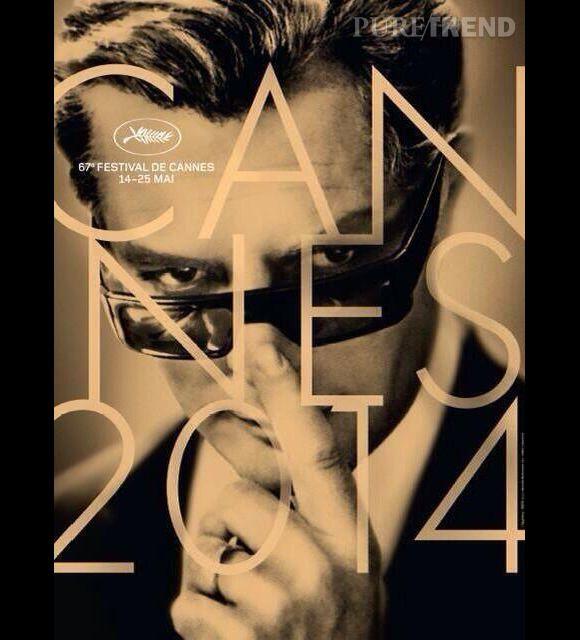 Marcello Mastroianni, star de l'affiche du 67e Festival de Cannes.