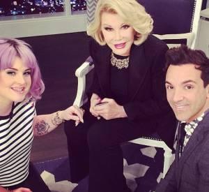 Kelly Osbourne s'est racheté une réputation de modeuse grâce à l'émission de Joan Rivers sur E !