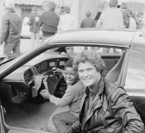David Hasselhoff en 1984.