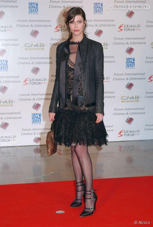 Anna Mouglalis à Monaco, en avril 2005. Son style se précise.
