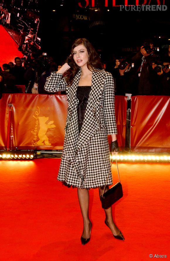Anna Mouglalis pendant le Festival du Film de Berlin en 2006.