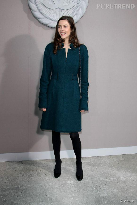 Anna Mouglalis lors du défilé Chanel Haute-Couture Printemps-Eté 2008.