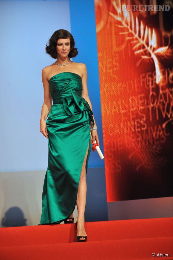 Anna Mouglalis à la cérémonie de clôture du 62ème Festival de Cannes.