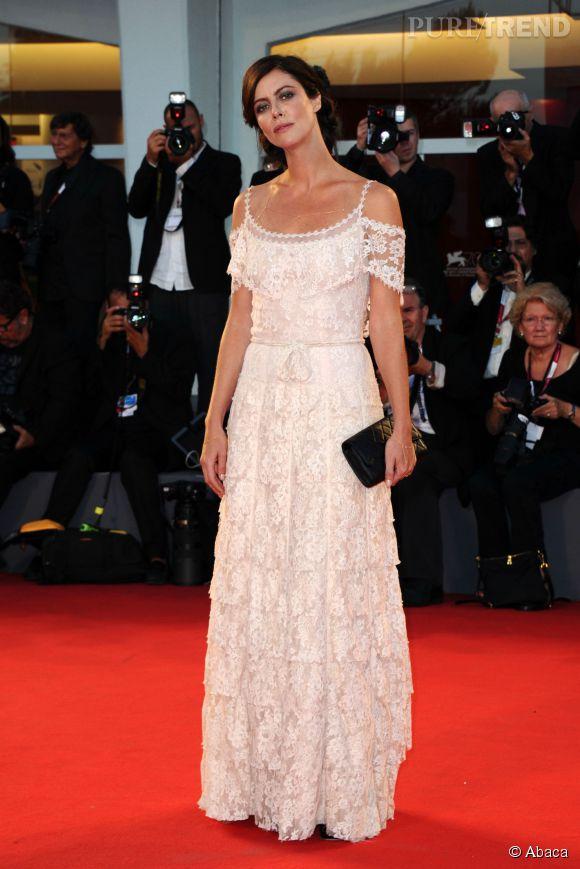 Anna Mouglalis subjugue depuis longtemps les photographes du Festival de Cannes.