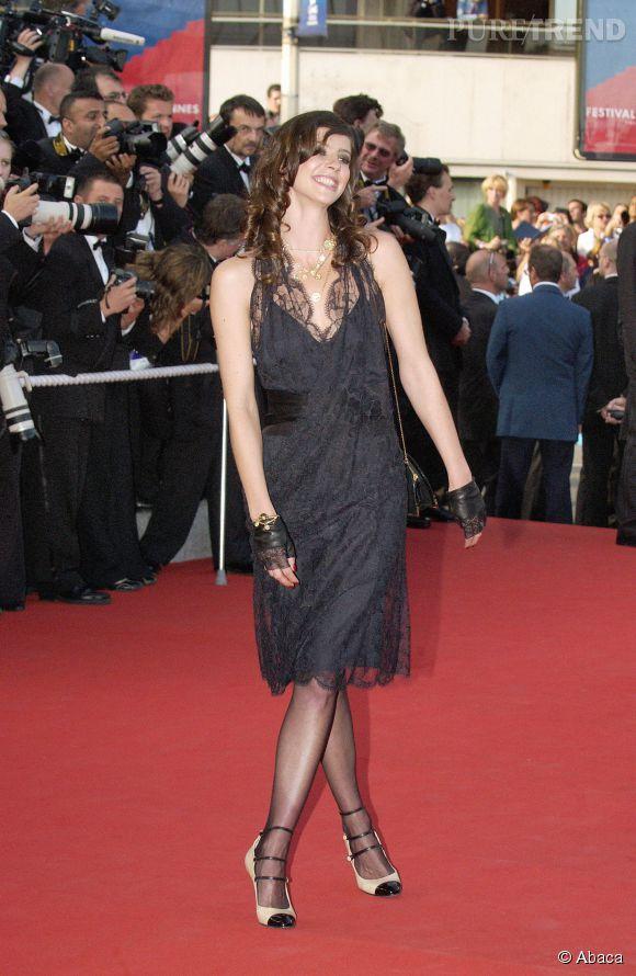 Anna Mouglalis, fidèle au Festival de Cannes et à Chanel, déjà en 2005.