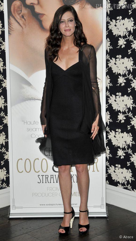 """Anna Mouglalis lors de l'avant-première de """"Coco Chanel et Igor Stravinsky"""" en 2010."""