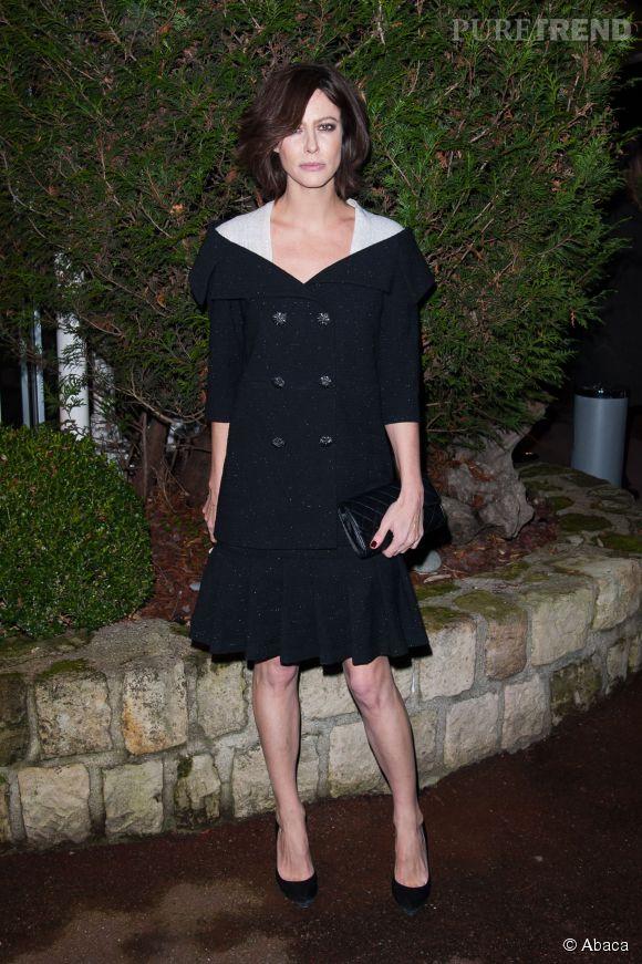 Anna Mouglalis, très chic pour le gala Sidaction.