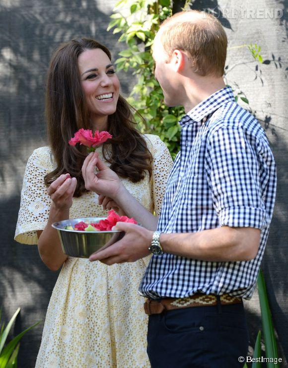 Le duc et la duchesse de Cambridge ont d'abord visité le zoo en amoureux, le dimanche 20 avril 2014 à Sydney.