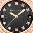 La nouvelle montre pour femme de Bulgari LVCEA présentée à Bâle en 2014.