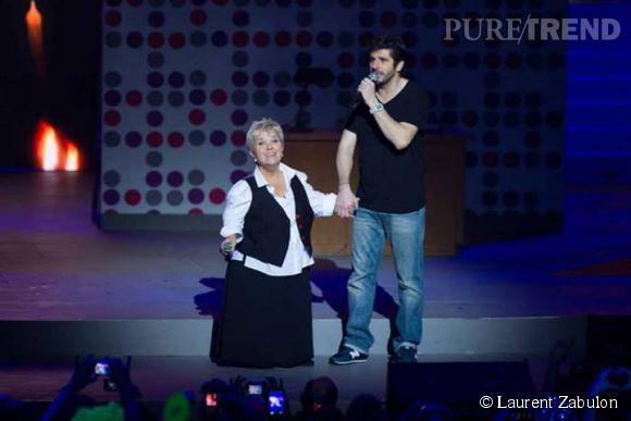 Patrick Fiori et Mimi Mathy défendent Les Enfoirés.