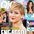 La Une du magazine OK! affirmait déjà que le couple était fiancé en janvier 2014.