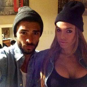 Vanessa Lawrens et Julien sur Instagram en avril 2014.