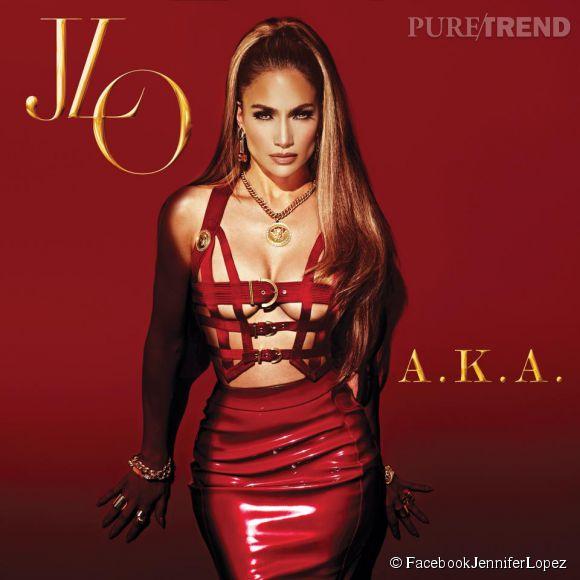 Jennifer Lopez est sexy en diable sur la pochette de son nouvel album AKA.