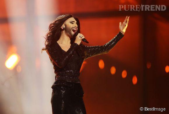 Conchita Wurst, le candidat autrichien s'est qualifié pour la grande finale.