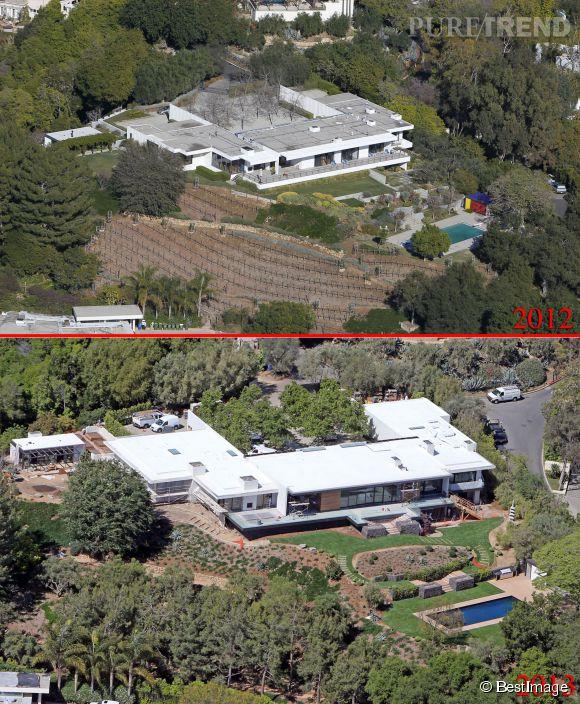 Jennifer Aniston et Justin effectuent actuellement des traveaux dans leur villa.