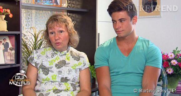 Francine et Florian dans Qui veut épouser mon fils ? saison 3 diffusé depuis le 25 avril 2014.