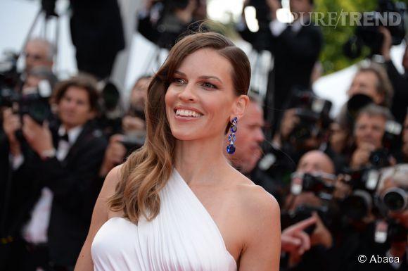 Hilary Swank au Festival de Cannes 2014 pour présenter The Homesman : notre interview