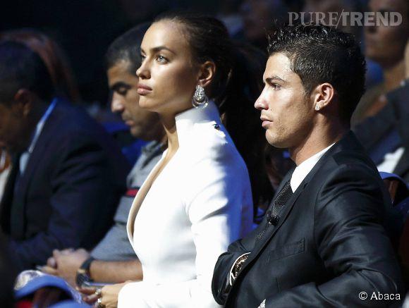 Irina Shayk et Cristiano Ronaldo en 2012.