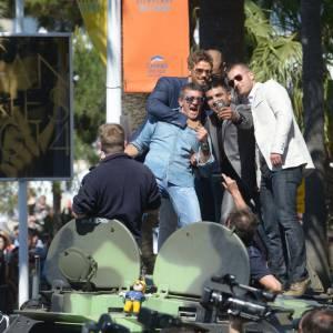 Du côté d'Antonio Banderas et du casting d'Expendables 3 ont ne fait pas vraiment dans la discrétion.