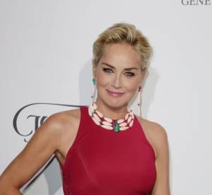 Cannes 2014 : Sharon Stone et Cara Delevingne défilent chez de Grisogono
