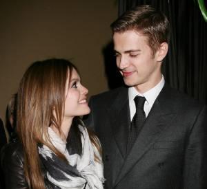 Rachel Wilson et Hayden Christensen en 2010.