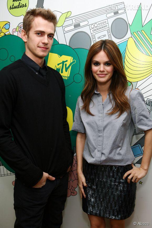 Hayden Christensen et Rachel Wilson en 2010.