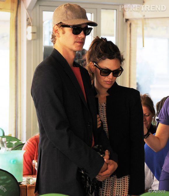 Hayden Christensen et Rachel Wilson en 2013.