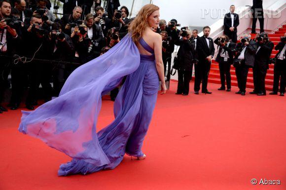 Jessica Chastain en Elie Saab pour le Festival de Cannes 2014
