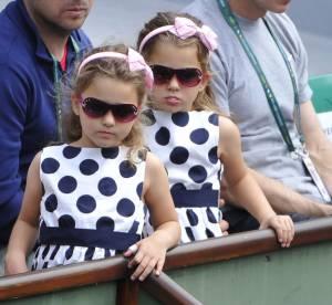 Roger Federer : ses adorables jumelles, ses meilleures supportrices !