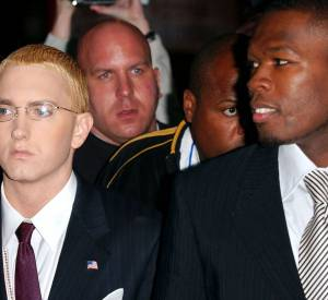 Impressionné par le talent de 50 Cent, Eminem a lancé la carrière solo du rappeur.
