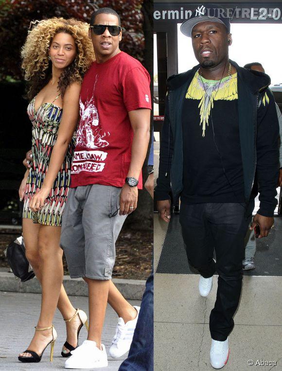Beyonce a cru que 50 Cent se disputait avec Jay-Z, et elle a pris la défense de son mari !