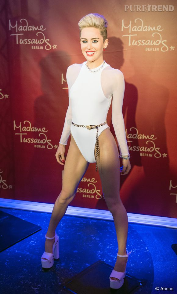 Miley Cyrus possède enfin sa statue de cire au musée Madame Tussauds de Berlin.