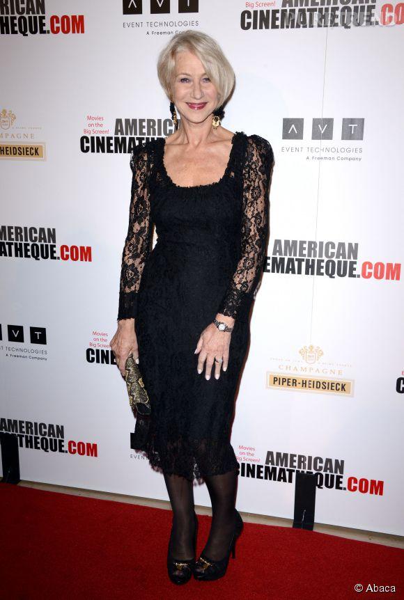 Helen Mirren, une icône et une jolie ambassadrice pour les sexygénaires.