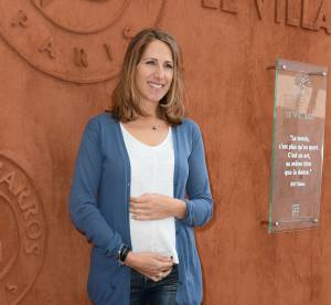 Maud Fontenoy enceinte ? Baby bump en vue à Roland Garros 2014 !