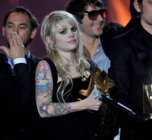 Coeur de Pirate aux 25èmes Victoires de la Musique en mars 2010.