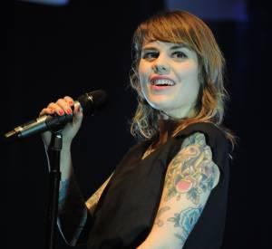 Coeur de Pirate lors d'un live à New York en janvier 2012.