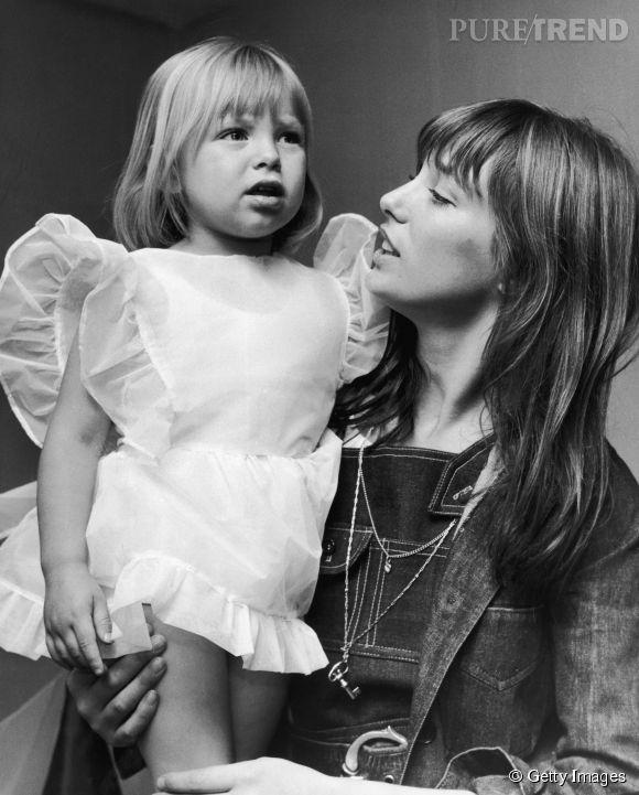 Kate Barry et sa mère Jane Birkin.