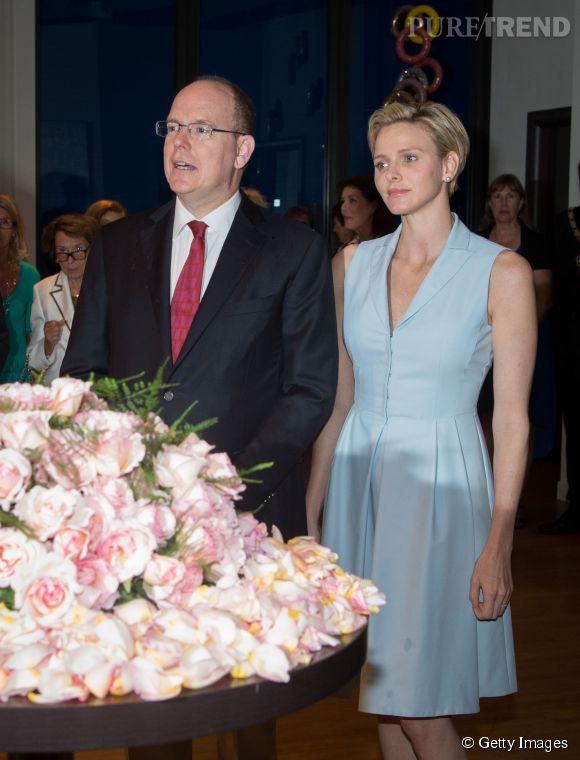 Princesse Charlene de Monaco, enceinte : première apparition officielle avec le Prince Albert !