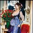 Adriana Karembeu, mannequin pour Vivienne Westwood en 1998.