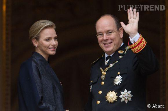 Princesse Charlene et Prince Albert, parrains du fils de Charlotte Casiraghi et Gad Elmaleh.