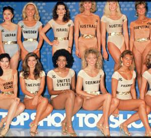 Nathalie Marquay fut l'une des prétendantes au titre de Miss Monde 1988.