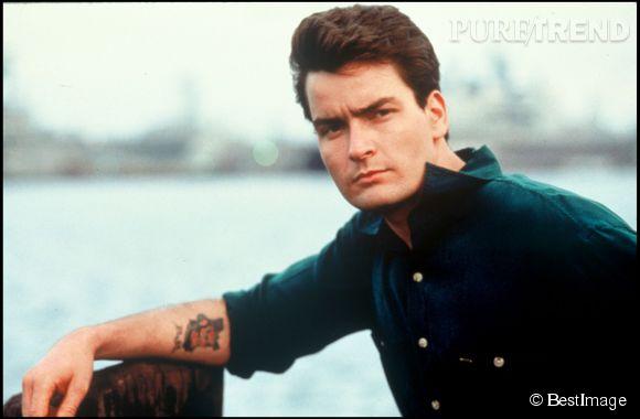 Charlie Sheen, beau gosse déchu des années 90.