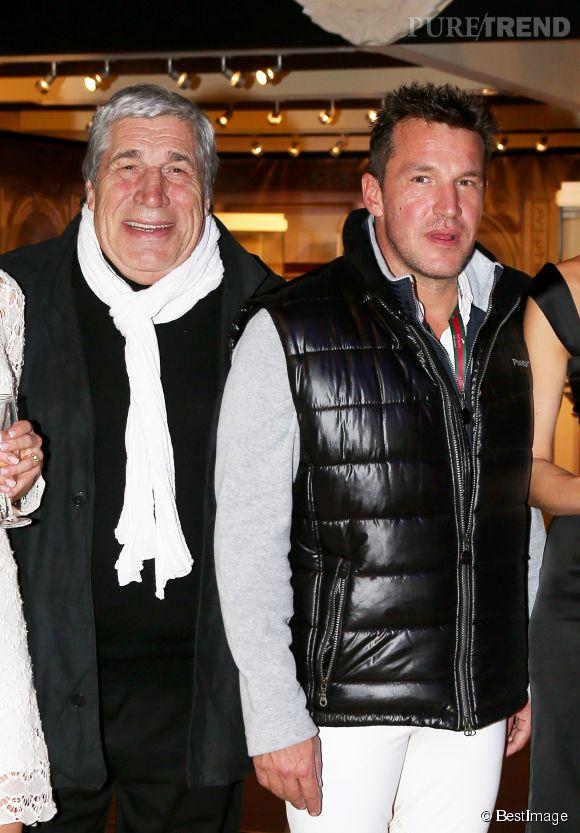 Benjamin Castaldi et son père Jean-Pierre.