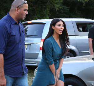 Kim Kardashian : une robe fortement déconseillée pour un parc d'attractions !