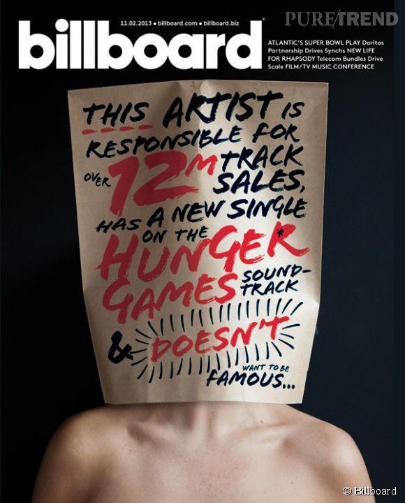 Sia en couverture de Billboard.