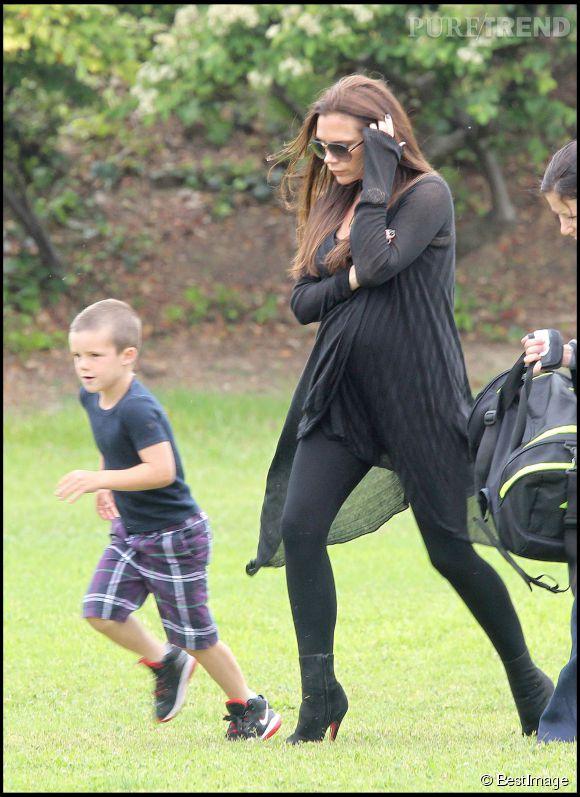 Victoria Beckham a commencé son entrainement avec Tracy Anderson alors qu'elle était enceinte.