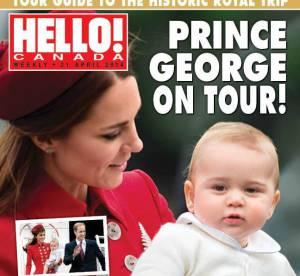Kate Middleton : Prince George, bébé potelé et superstar de Vanity Fair
