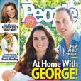 Kate Middleton et le Prince William à la naissance de George pour People.